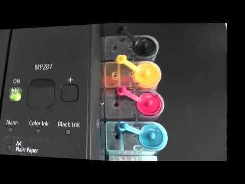 Canon MP287 Reset Counter Error