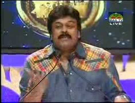 Chiranjeevi Speech - TCV Day 3 - Part 1 of 2