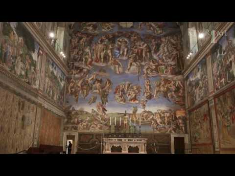 Sistine Chapel - A Vatican Tour - Sixtinische Kapelle - Conclave 2013- Chapelle Sixtine - Sistina
