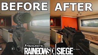 Rainbow Six Siege 2015 vs 2017