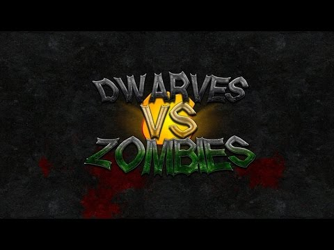 Best Minecraft Server Ever? | Dwarves Vs. Zombies