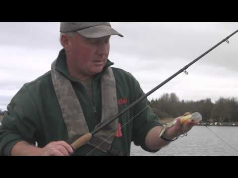 Pike fishing with Mick Flanagan and testing new Revo Shad lure.