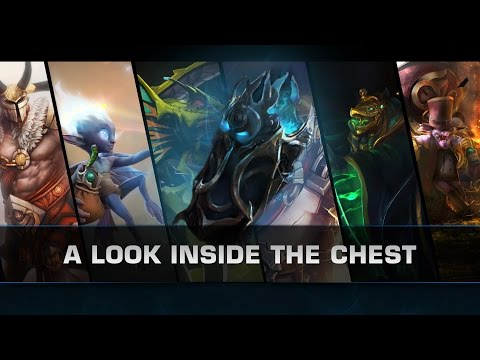 Dota 2 A Look Inside the Chest (DotaCinema chest)