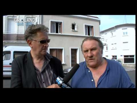 Gérard Depardieu - Conseils anti grippe A