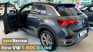 New VW T-ROC R-Line 2019 Review Interior Exterior