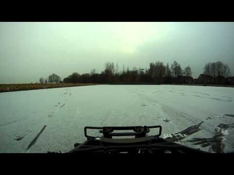 hpi baja 5sc ss on ice gopro hd crash