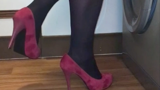 Still In My Pantyhose And Heels After Work