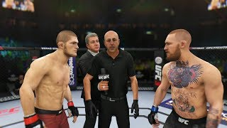 KHABIB NURMAGOMEDOV vs CONOR McGREGOR UFC 3