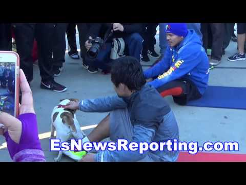 Pacman Loves Manny Pacquiao - EsNews Boxing