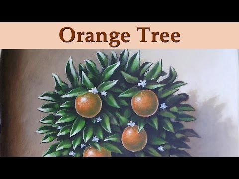 Murals & Trompe L'Oeil  -  Orange Tree
