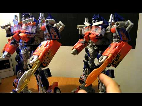 Transformers ROTF Buster Optimus Prime!