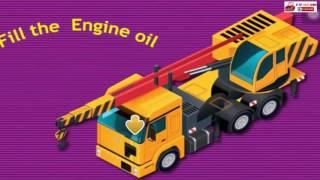 Ô tô hoạt hình | Lắp ráp xe chữa cháy, máy múc, cần cẩu, máy xúc, máy ủi