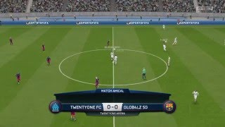 Fifa 16 Club Pro FVPA TwentyOne FC Vs Glob4lz SG