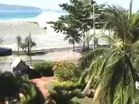 Tsunami in Phuket, Thailand