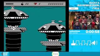 Rocky & Bullwinkle by authorblues in 5:08 - Awesome Games Done Quick 2016 - Part 92