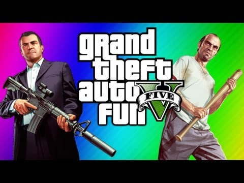 GTA 5 Funny Moments - Ultimate Workout. Jimmy Clone Glitch. Yoga. Torture. Chop (GTA 5 Gameplay)