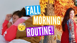 FALL MORNING ROUTINE!!!