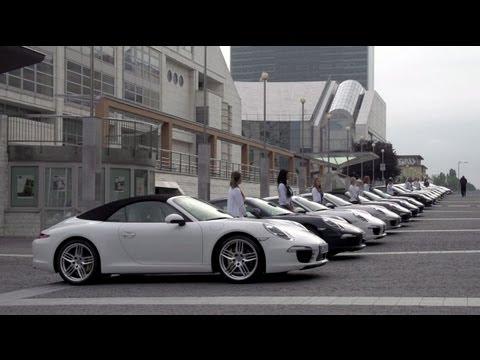 Празднование 50-летия Porsche 911 в Словакии