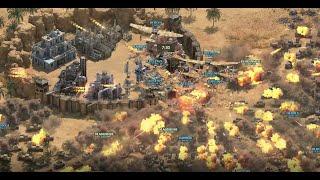 Attacking Base Desert Order Game // 25 Guns // Karl Howitzers