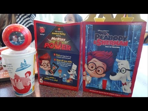 Mr. Peabody & Sherman - McDonald's Happy Meal