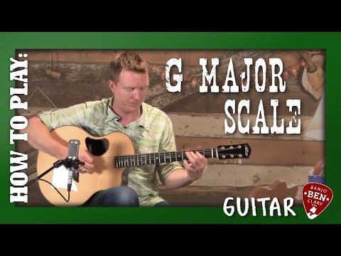 Lesson Guitar - G Major Lesson