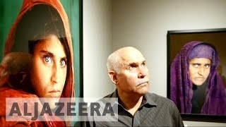 Steve McCurry discusses Sharbat Gula
