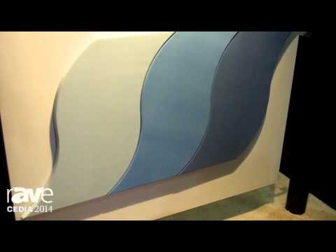 CEDIA 2014: Acoustic Innovations Exhibits Custom Acoustic Panels – Available in Any Shape, Fabric
