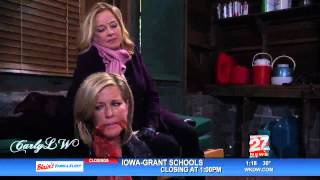 GH: Carly Scenes on 1/10/14