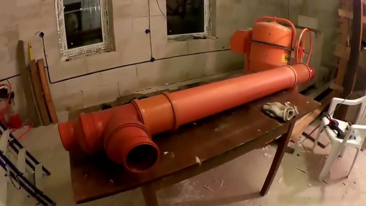 Вентиляционный теплообменник своими руками 50