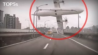 5 Insane & Scary Moments Caught on Dash Cameras