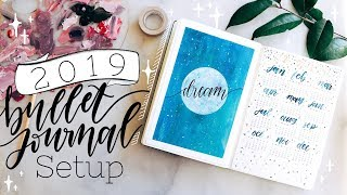 2019 Bullet Journal Setup + January Plan with Me!