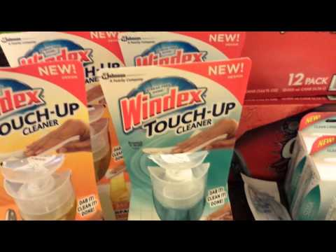 Rite Aid windex & purina couponing 4/2