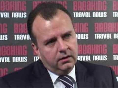 Stefan Schwind, General Manager, Kempinski Hotel Zografski @ WTM 2007