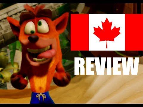 Canadian Reviews : Crash Bandicoot N. Sane Trilogy