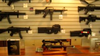 Ice T Gun Porn: 20MM Rifle in AZ Gun Store.. Silencers, Street Sweepers, you name it.