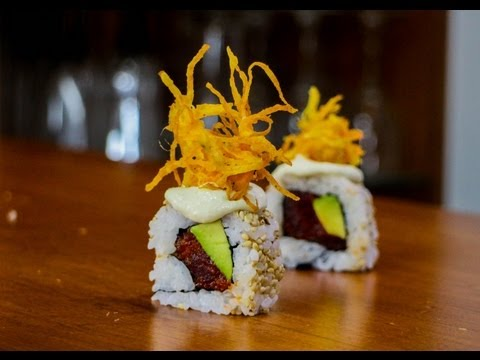 Spicy Tuna Sushi Roll Recipe - Hallowed Ground