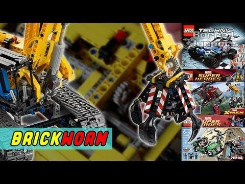 LEGO Excavator (42006) и мои новые наборы - Brickworm