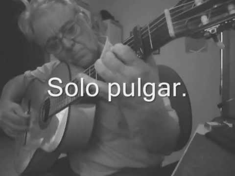 Falseta de seguiriya de Diego del Gastor (Con tab.)
