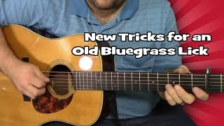 New Tricks for an Old Bluegrass Lick