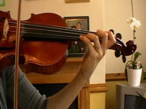 b Flat Major Scale Violin b Flat Major Scale on Violin