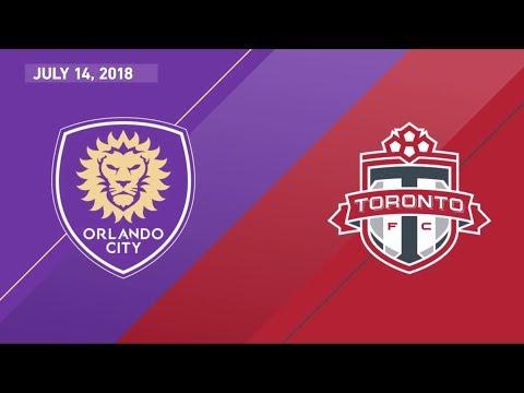 HIGHLIGHTS: Orlando City SC vs. Toronto FC   July 14, 2018