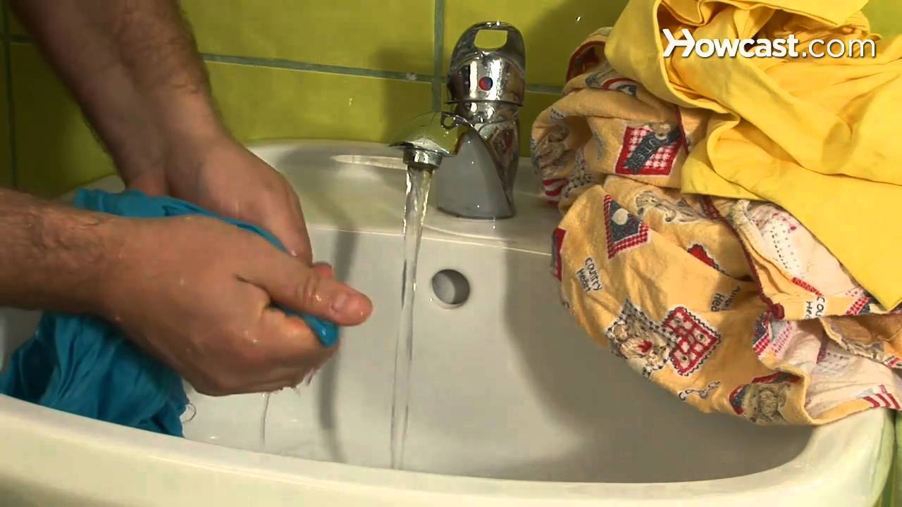 How To Hand Wash Clothes Youtube