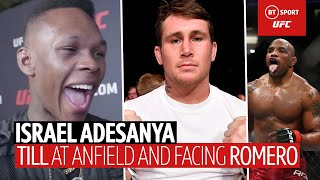 """I'm like Goku, I want the baddest!"" Adesanya on Yoel Romero, Darren Till and Jared Cannonier"