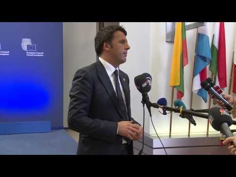 Matteo Renzi Consiglio Europeo su Immigrazione e Grecia