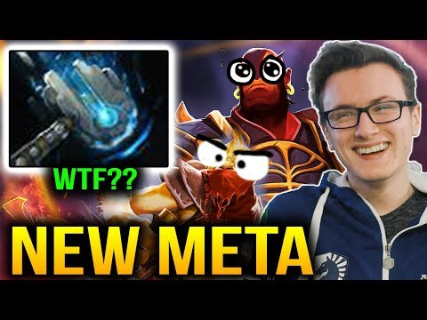 Miracle- METEOR HAMMER NEW META with Ember and BH Dota 2