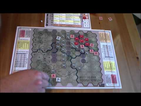 Battle for Moscow - Victory Point Games - Teaching a 10 year old how to war game