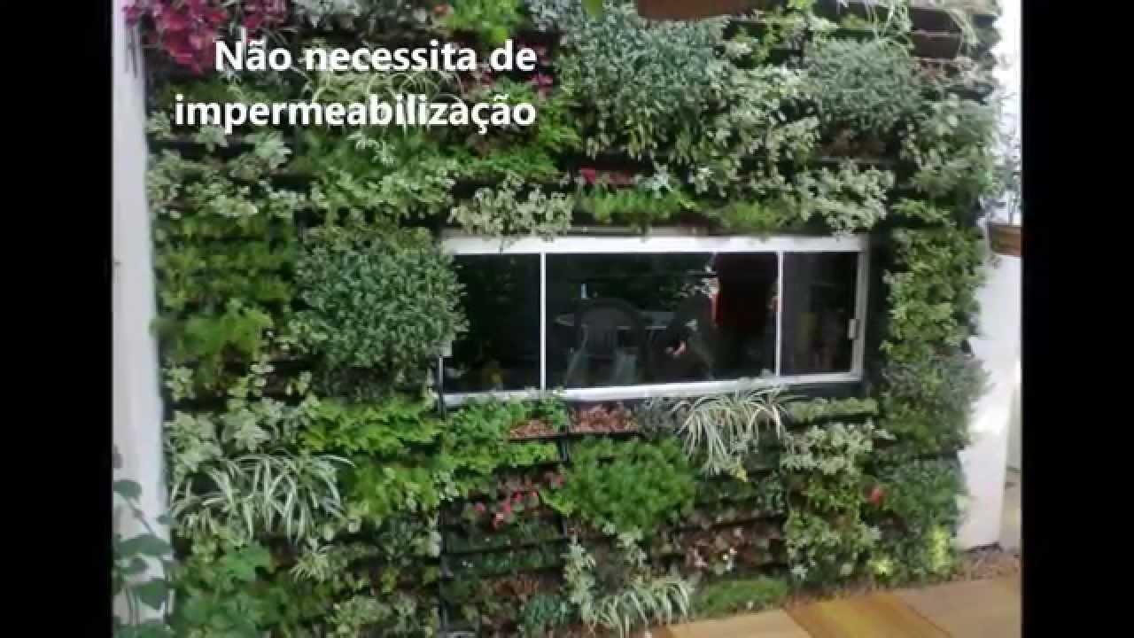 Como Fazer um Jardim Vertical  YouTube