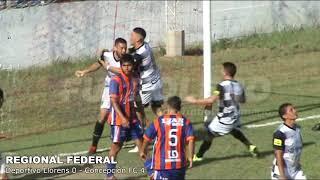 REGIONAL FEDERAL: Concepción logró su primera victoria con una goleada frente a Deportivo Llorens