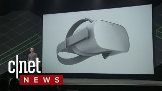 Oculus Go is an all-new standalone VR headset (CNET News)