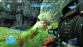 Halo Reach: Multi Flag Classic on Coagulation: Gameplay.